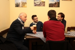 Debata nad dobrým pivem v Praze 27. 11.