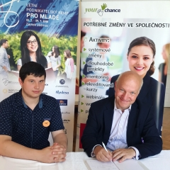 Pavel Fischer na Letním podnikatelském kempu
