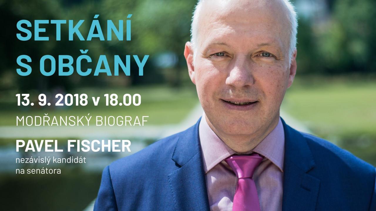 Pozvánka: Setkání s občany v Modřanském biografu 13. září v 18 hodin