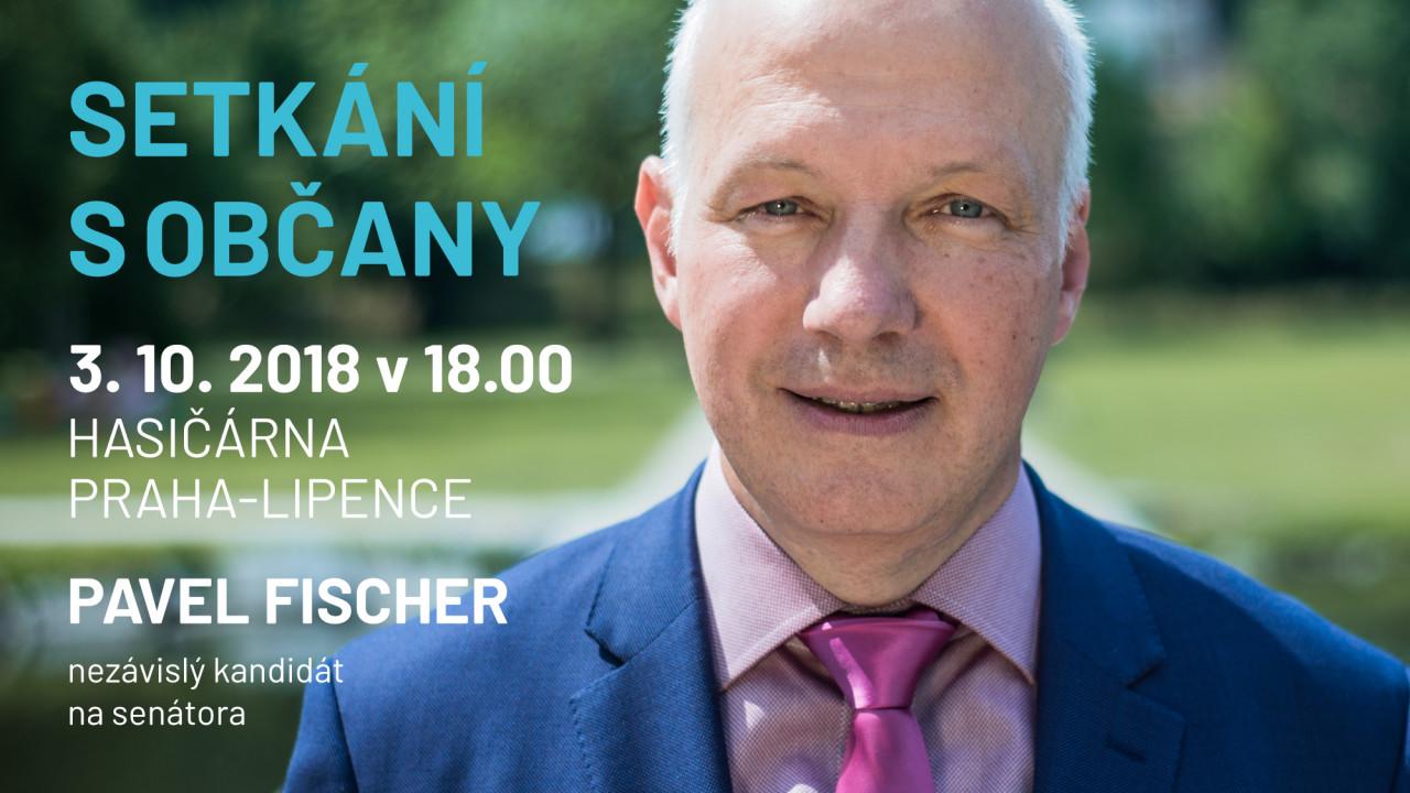 Pozvánka: setkání s občany v objektu dobrovolných hasičů v Lipencích