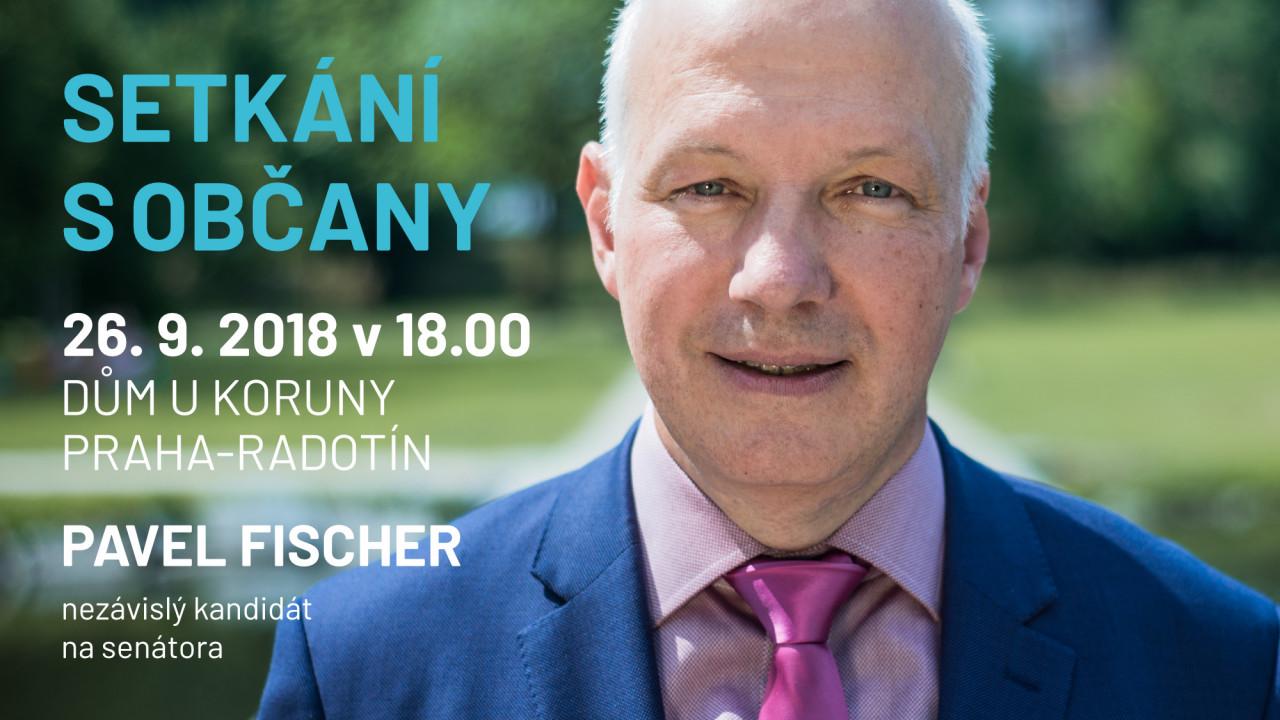 Pozvánka: Setkání s občany v domě U Koruny v Radotíně 26.9. v 18 hodin