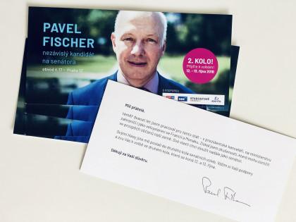 Tisková zpráva: Pavel Fischer zahájil kampaň pro druhé kolo senátních voleb