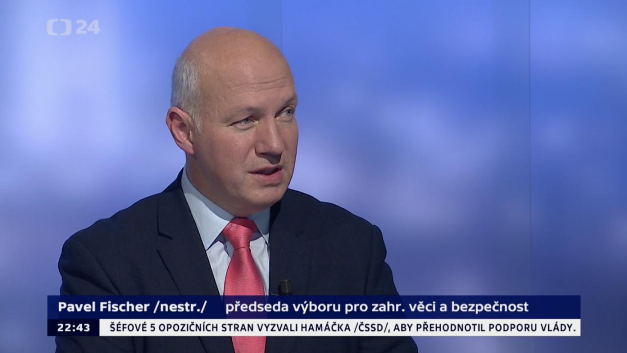 Pavel Fischer v pořadu Události, komentáře 20. listopadu 2018