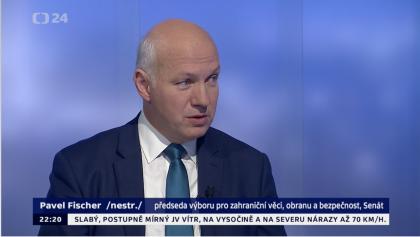 Pavel Fischer v pořadu Události, komentáře 28. listopadu 2018