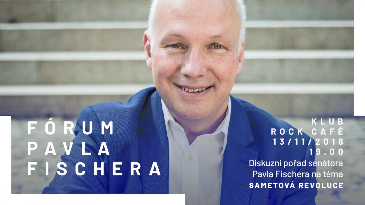 Pozvánka: Fórum Pavla Fischera 13. listopadu v Rock Café