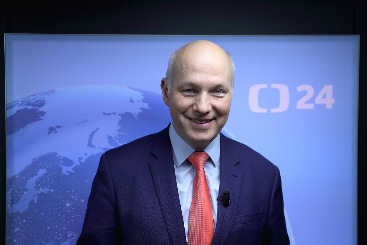 Pavel Fischer hostem pořadu Interview ČT24 České televize