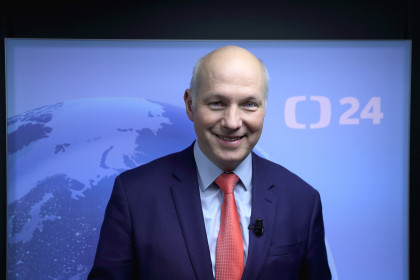 Pavel Fischer v pořadu Události, komentáře České televize 13. února 2019