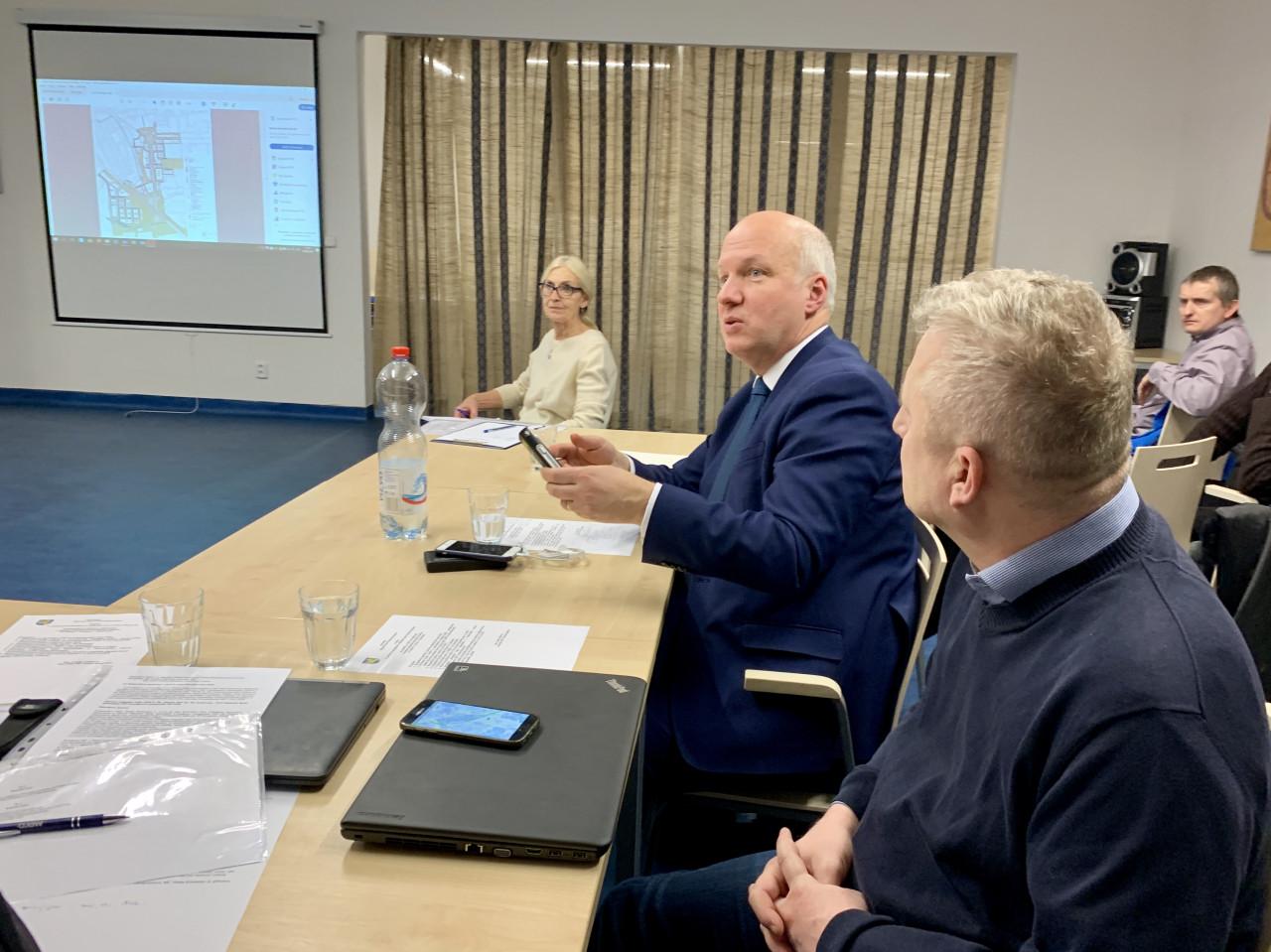 Pavel Fischer na zasedání Zastupitelstva MČ Praha – Kunratice 4. února 2019