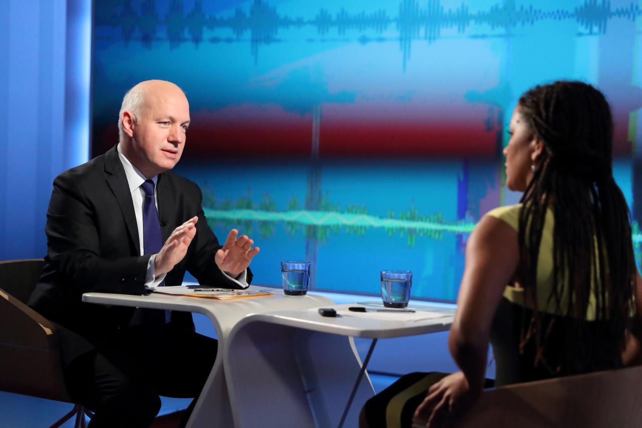 Pavel Fischer hostem pořadu Interview ČT24 22. března 2019