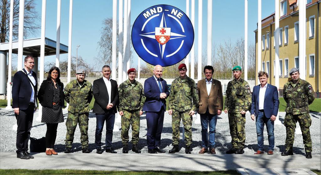 Tisková zpráva: Delegace Senátu navštívila velitelství NATO a vedla politická jednání ve Varšavě