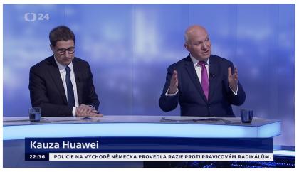 Pavel Fischer hostem pořadu Události, komentáře 10. dubna 2019