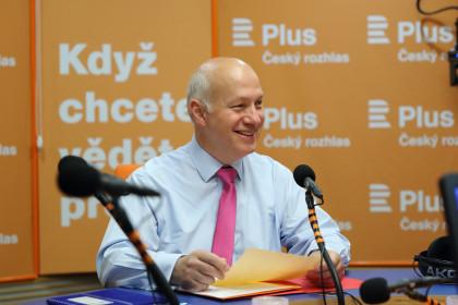 Pavel Fischer pro Český rozhlas: Ekonomika roste a my nejsme schopni si připlatit za kybernetickou ochranu