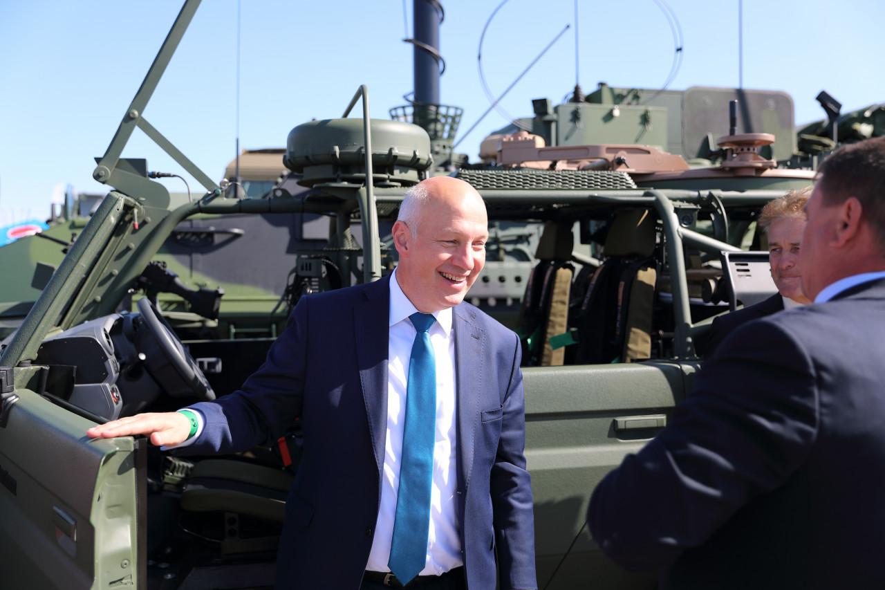Pavel Fischer navštívil Dny NATO 2019 v Ostravě