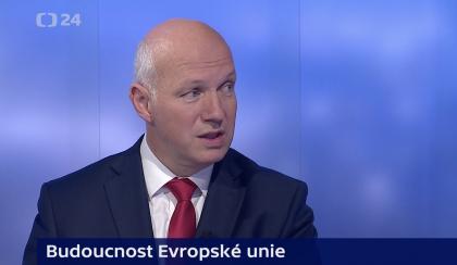 Pavel Fischer k brexitu a událostem v Sýrii v pořadu Události, komentáře ČT 17. října 2019