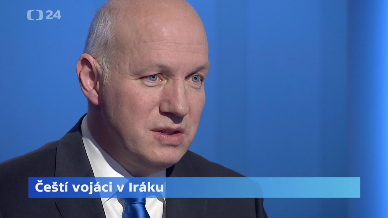 Pavel Fischer hostem pořadu Interview ČT24 17. ledna 2020