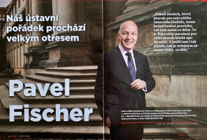 Rozhovor Pavla Fischera pro FORUM24