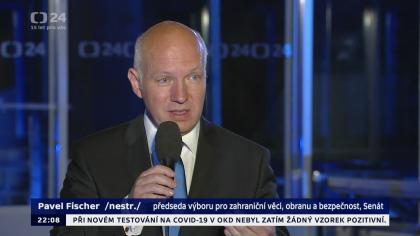 Pavel Fischer v pořadu Události, komentáře České televize 17. června 2020