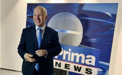 Pavel Fischer hostem Partie Terezie Tománkové na CNN Prima News