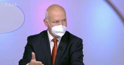 Pavel Fischer v Otázkách Václava Moravce